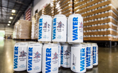 Local Anheuser-Busch Distributor to Provide Emergency Cans of Drinking Water to Aid Victims of Hurricane Michael